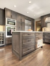 70+ Amazing Farmhouse Gray Kitchen Cabinet Design Ideas 30