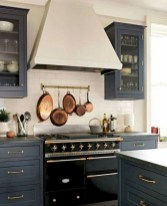 70+ Amazing Farmhouse Gray Kitchen Cabinet Design Ideas 36