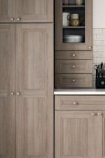 70+ Amazing Farmhouse Gray Kitchen Cabinet Design Ideas 60