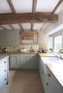 70+ Amazing Farmhouse Gray Kitchen Cabinet Design Ideas 63