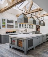 75+ Rustic Farmhouse Style Kitchen Makeover Ideas 02