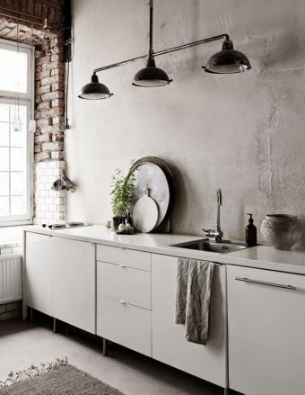 27+ Top Ideas To Make Your Wall More Beautiful With Concrete Skim Coat Wall (14)