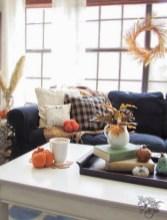 28+ Comfy Fall Home Tour Decor Ideas to Inspire (30)