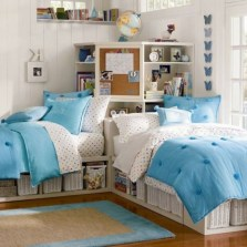 30+ Awesome Decorating Tips to Style Perfect Bedroom for Teen (29)