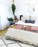 30+ Stunning Bohemian Bedroom Decor For Small Space (12)