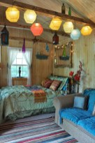 30+ Stunning Bohemian Bedroom Decor For Small Space (28)