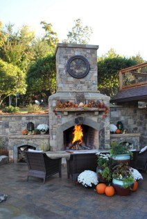 45+ Awesome Cooking With Amazing Outdoor Kitchen Ideas (13)