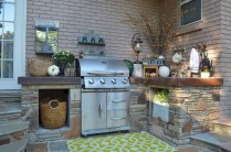 45+ Awesome Cooking With Amazing Outdoor Kitchen Ideas (16)