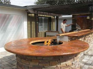 45+ Awesome Cooking With Amazing Outdoor Kitchen Ideas (22)