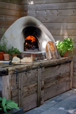 45+ Awesome Cooking With Amazing Outdoor Kitchen Ideas (31)