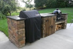 45+ Awesome Cooking With Amazing Outdoor Kitchen Ideas (37)