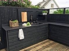 45+ Awesome Cooking With Amazing Outdoor Kitchen Ideas (38)