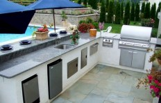 45+ Awesome Cooking With Amazing Outdoor Kitchen Ideas (7)