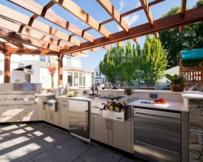 48+ Marvelous Outdoor Kitchen Ideas (43)