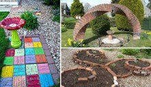 53+ Beautiful DIY Outdoor Garden Crafts Ideas to Make Your Garden More Beautiful (13)