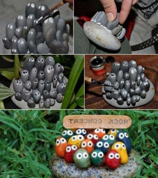 53+ Beautiful DIY Outdoor Garden Crafts Ideas to Make Your Garden More Beautiful (16)
