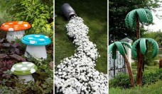 53+ Beautiful DIY Outdoor Garden Crafts Ideas to Make Your Garden More Beautiful (18)