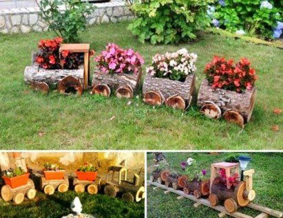 53+ Beautiful DIY Outdoor Garden Crafts Ideas to Make Your Garden More Beautiful (2)