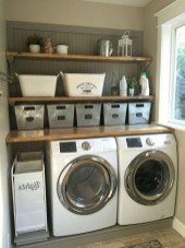55+ Inspiring Simple and Awesome Laundry Room Ideas (16)