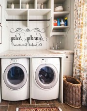 55+ Inspiring Simple and Awesome Laundry Room Ideas (23)