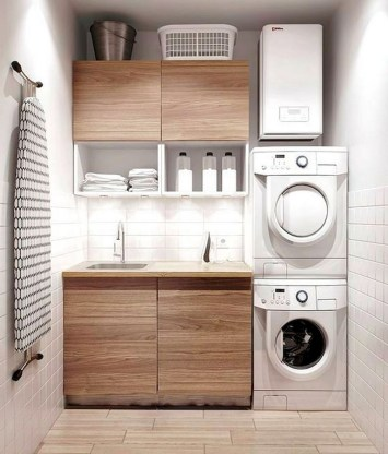 55+ Inspiring Simple and Awesome Laundry Room Ideas (38)