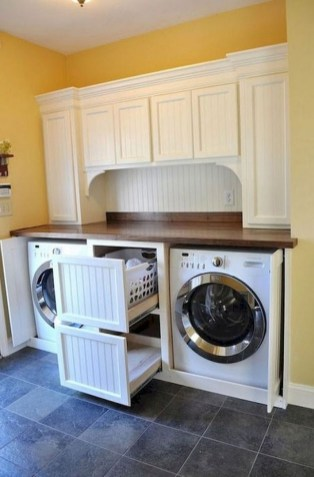 55+ Inspiring Simple and Awesome Laundry Room Ideas (52)