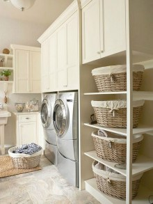 55+ Inspiring Simple and Awesome Laundry Room Ideas (55)