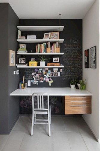56+ Stunning Moody Mid Century Home Office Decor Ideas (3)
