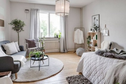 78+ Cool First Apartment Decorating Ideas on A Budget (26)