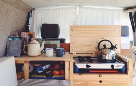 82+ Inspiring RV Camper Van Interior Design and Organization Ideas (11)