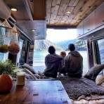 82+ Inspiring RV Camper Van Interior Design and Organization Ideas (36)
