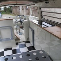 82+ Inspiring RV Camper Van Interior Design and Organization Ideas (42)