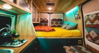 82+ Inspiring RV Camper Van Interior Design and Organization Ideas (43)