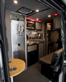 82+ Inspiring RV Camper Van Interior Design and Organization Ideas (51)