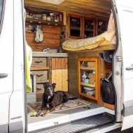 82+ Inspiring RV Camper Van Interior Design and Organization Ideas (62)