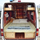 82+ Inspiring RV Camper Van Interior Design and Organization Ideas (69)