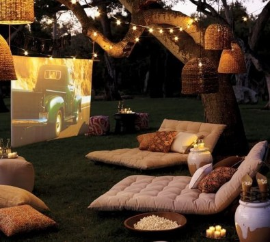 26+ Awesome DIY Fire Pit Plans Ideas With Lighting in Frontyard (28)