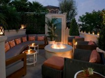 26+ Awesome DIY Fire Pit Plans Ideas With Lighting in Frontyard (3)