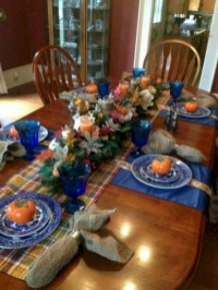 28+ Inspiring Turkey Decor Ideas for Your Thanksgiving Table (11)