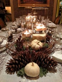 28+ Inspiring Turkey Decor Ideas for Your Thanksgiving Table (13)