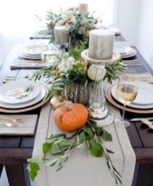 28+ Inspiring Turkey Decor Ideas for Your Thanksgiving Table (23)
