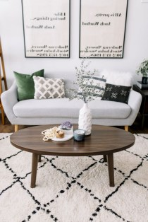 30+ Creative Tips For A Perfect Coffee Table Styling To Living Room (24)