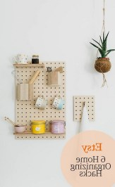 40+ Brilliant Ways To Organize Your Home With Pegboards (16)