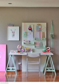 40+ Brilliant Ways To Organize Your Home With Pegboards (24)