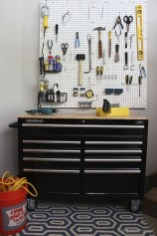 40+ Brilliant Ways To Organize Your Home With Pegboards (28)