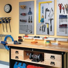 40+ Brilliant Ways To Organize Your Home With Pegboards (3)