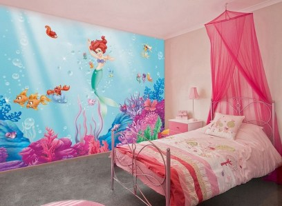36+ Sweet Mermaid Themes Bedroom Ideas For Your Children (1)