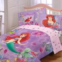 36+ Sweet Mermaid Themes Bedroom Ideas For Your Children (20)