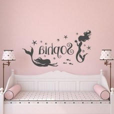 36+ Sweet Mermaid Themes Bedroom Ideas For Your Children (28)
