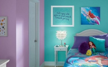 36+ Sweet Mermaid Themes Bedroom Ideas For Your Children (30)